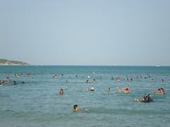 Cap sidi ali el mekki vu de la plage