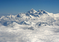 His majesty the Everest (Ingiro) Tags: nepal tibet himalaya everest ingiro interestingness42 i500