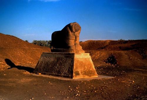 El león de Babilonia, Fotografía: gustaf wallen