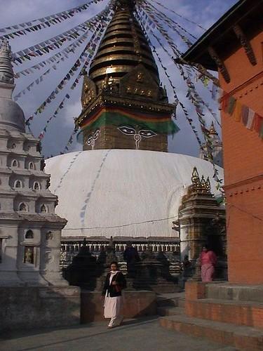 The Kathmandu Valley in Nepal