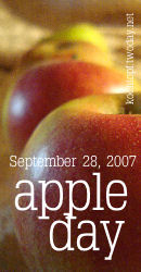 apple day - September 28, 2007
