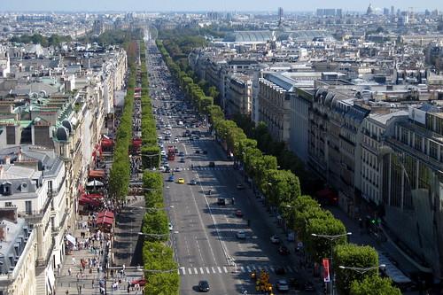 Les Champs Elysées, Paris
