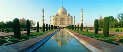 Taj Mahal  ( Thankful to all Flickr friends making this photo 10000 views ) (ashokguptahsr) Tags: panorama india history monument architecture taj mahal tajmahal agra panoramic monuments sevenwonders historicalmonuments mugal visiongroup holidaysvacanzeurlaub megastructer