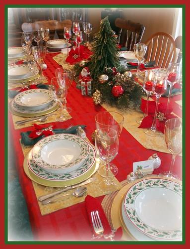 sc 1 st  Houzz & Christmas Tablescapes Part 1