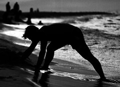max on the beach (gianluca_cozzolino) Tags: world sea portrait bw black max beach 35mm reflex eyes nikon shadows emotion havana cuba dia emotions nikonfm2 biancoenero fm2 diapositiva reportage twr analogic diapo gianluca cozzolino nikonblack gianlucacozzolino nikonanalogic