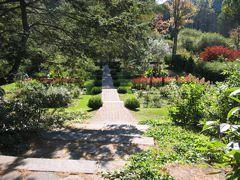 The entrance to The Shakespeare Garden