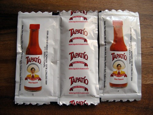 Condiment Crack: Tapatio To-Go
