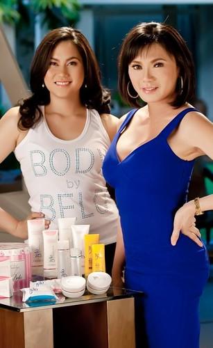 Vicki Belo and Cristalle Henares