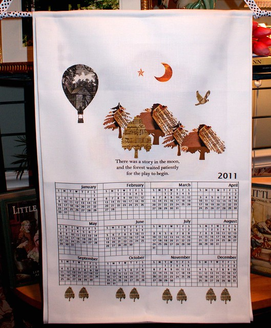 2011 Orchard House Wall Calendar