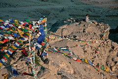 ladakh (marina.shakleina) Tags: india hill buddhism flags meditation leh himalayas northindia prayingflags nountain