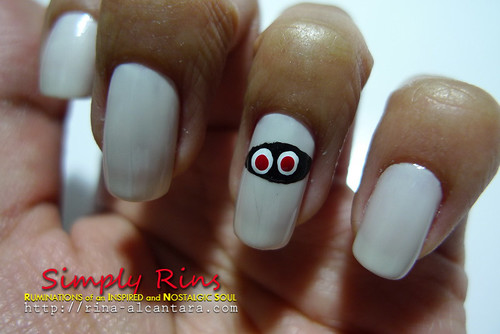 Nail Art Halloween Mummies 02