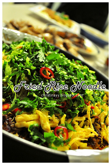 Shaine's Farewell Dinner: Fried Rice Noodle