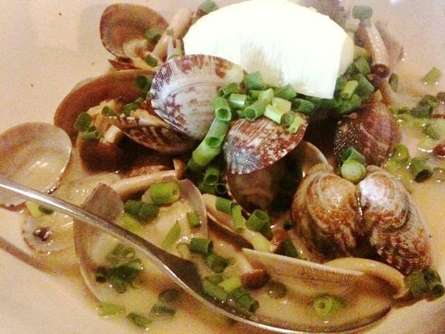一菜合菜のあさりガーリック。旨味がやばい。絶対食うべき! #MiyaMeshi #Utsunomiya