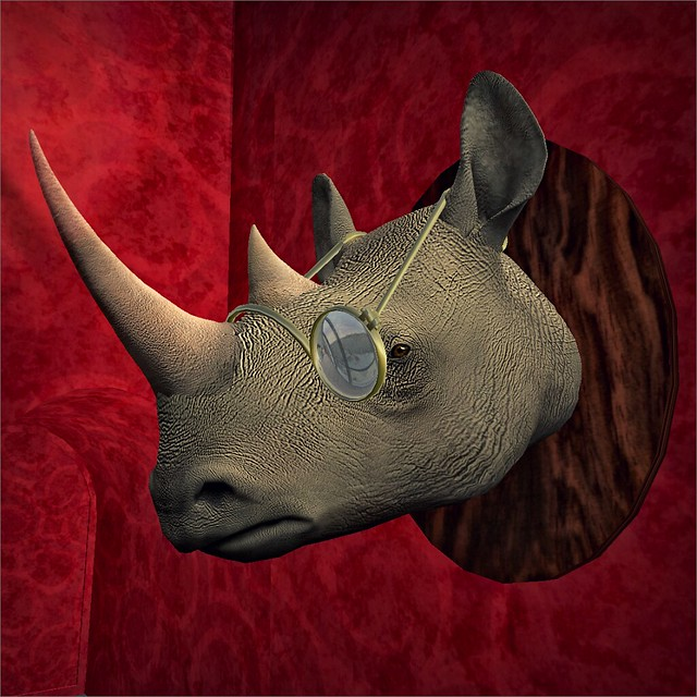 Rhino Head mounted