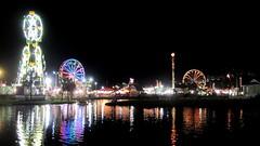 Coastal Carolina Fair (Ashley Roberson) Tags: reflection sc water lights fair coastal carolina 2010 ladson
