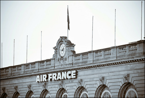 Air france building on Invalides