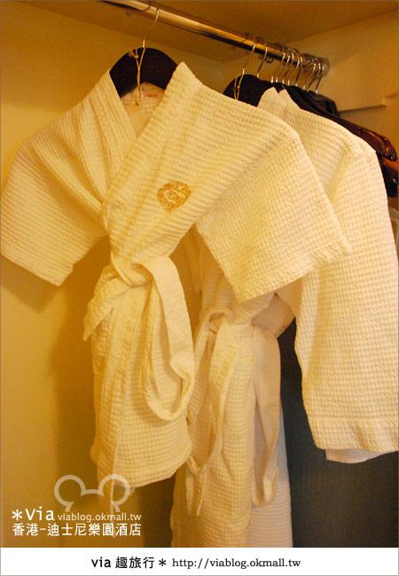 【香港住宿】跟著via玩香港(4)~迪士尼樂園酒店(外觀、房間篇)37