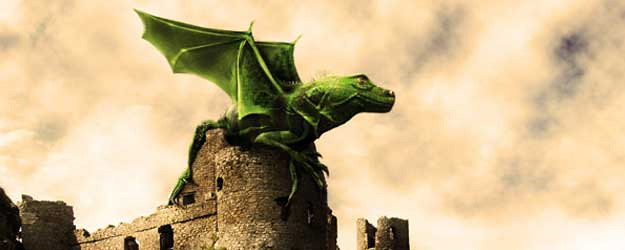 How to Design a Dramatic Winged Dragon with Photoshop