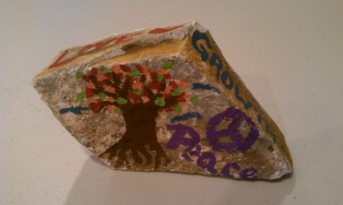 Student work: Love, growth, peace