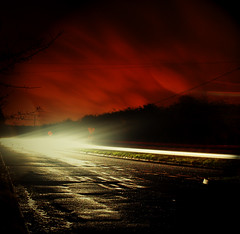 The Road - Explored (Sarah Cowan's mix of photo love) Tags: road longexposure ireland night derry
