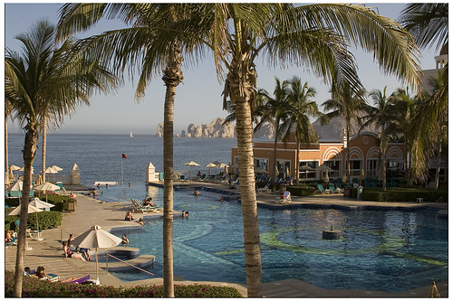 Riu Palace Cabo quiet pool afternoon