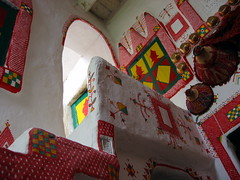 Old Town of Ghadams, Libya. ( Libyan Soup) Tags: africa house home sahara architecture paint desert interior traditional decoration worldheritagesite arab libya tuareg libyan berbers ghadames unseco jewelofthesahara jamahiriya pearlofthedesert ghadamis admis dms oasistown ghadams alhamadahalhamra ghademes gadamis flickrhivemind libyansoup