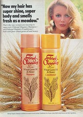 Faberg Organics Shampoo (twitchery) Tags: vintage hair shampoo 70s conditioner farrah vintageads vintagebeauty