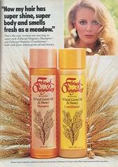 Fabergé Organics Shampoo (twitchery) Tags: vintage hair shampoo 70s conditioner farrah vintageads vintagebeauty