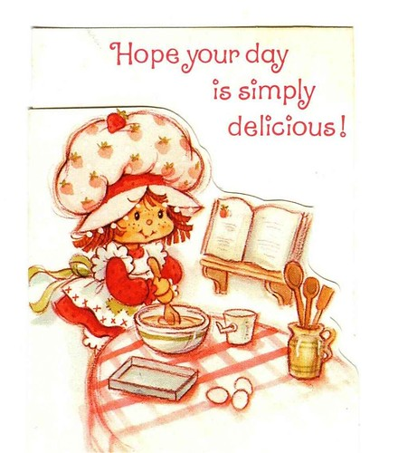 Flickriver Photoset Vintage Strawberry Shortcake cards by – Strawberry Shortcake Birthday Cards