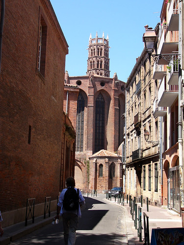 The old town of Toulouse