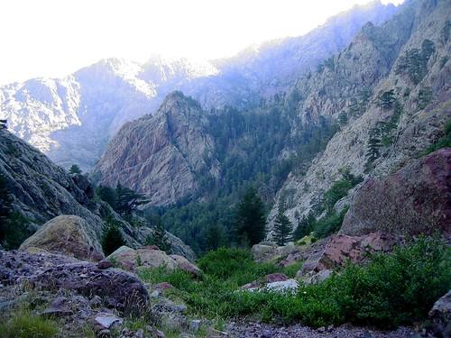 Ravin de Laoscella: sommet et col du Saltare, Ghjarghje Rosse, ...