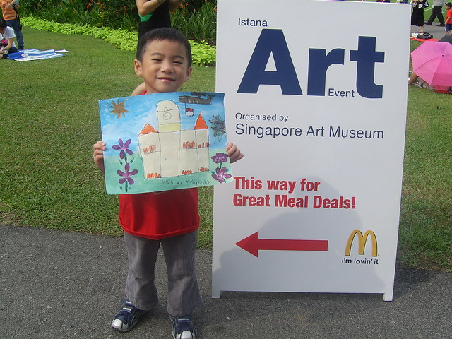 SG AUG 2007 - Istana Open House - Art Competition - Happy Josh ...