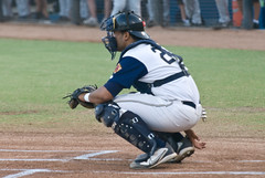 David Ramirez (mark6mauno) Tags: david beach field golden nikon long baseball armada longbeach blair d200 catcher league ramirez 2007 gbl 70200mmf28gvr goldenbaseballleague davidramirez nikond200 tc17eii blairfield