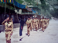 Gulmit, Ismaili Boy Scouts Marchpast (Aejaz Karim) Tags: hunza goldenjubilee agakhan gulmit
