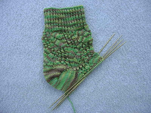 Small Meadowlands sock