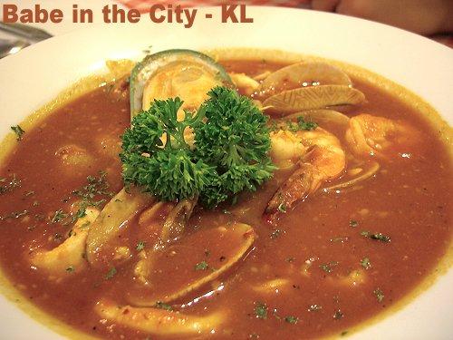 Calabria - seafood soup
