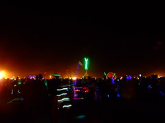 BM07 111 (In dust we trust) Tags: city black rock night lowlight playa burningman finepix fujifilm 2007 s6000fd