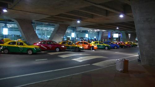 彩色計程車