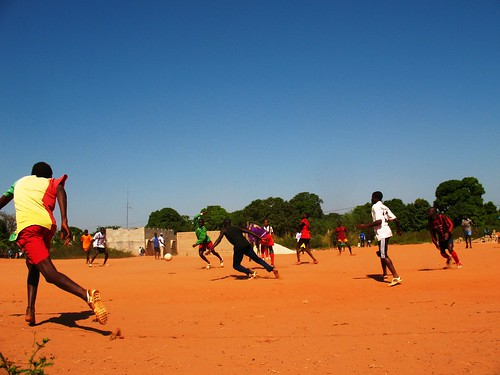 Soccer in Senegal by Brendan Baker.