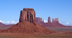 Merrick Butte - Monument Valley - Utah (BlueVoter - thanks for 1.3M views) Tags: utah monumentvalley navajotriballand