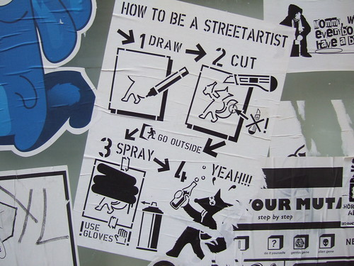 How to be a Streetartist