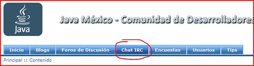 Chat Java México