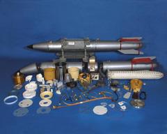 B-61 bomb parts