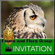 Fauna and Flora Group Invitation