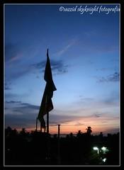 Silhoutte Flag (camerawala sazzid) Tags: silhouette wavinflag