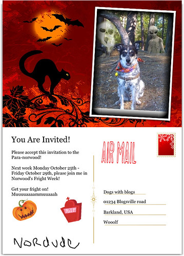 fright week invite