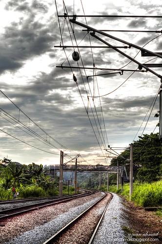 calm railway