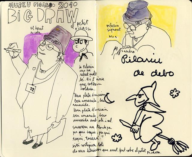 Big Draw. El Petit Picasso