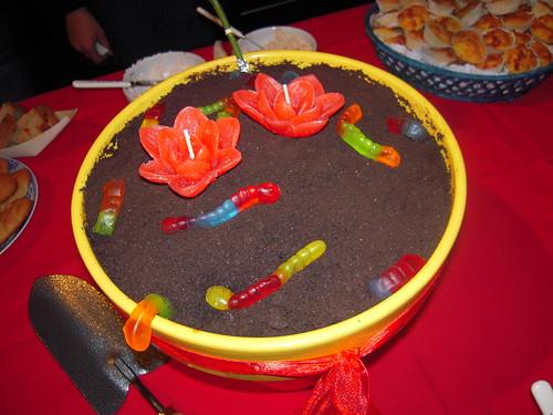 Bolo de terra ~ Dirt Cake