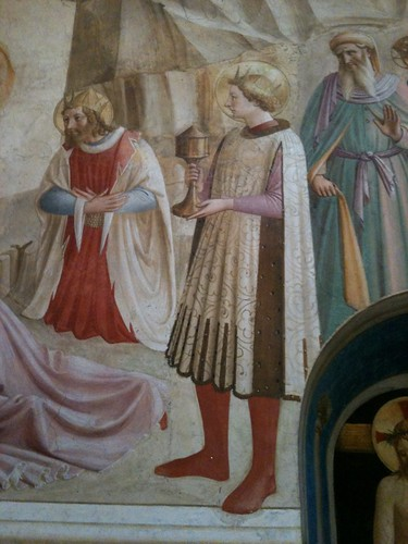 Fra Angelico fresco, monk's cell, San Marco